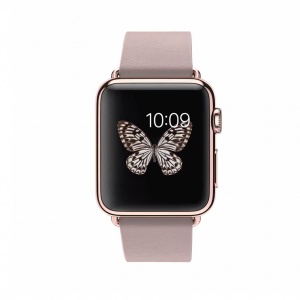 APPLE WATCH EDITION 38 18 KARAT ROSE GOLD CASE WITH